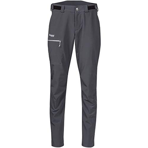 Bergans Slingsby LT Pantalon Softshell Femme, Solid Dark Grey/White Modèle L 2020