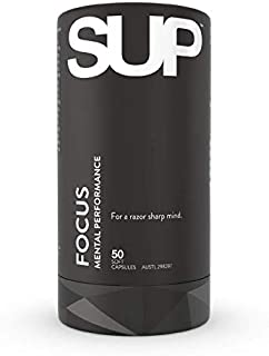SUP Supplements Focus Mental Performance 50 Tablets, 0.15 kilograms
