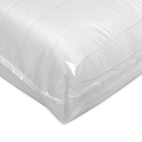 Eva-Dry Smooth Encased Mattress Protector (15cm) Double