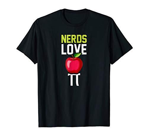 Nerds Love Apple Pie Shirt - Funny Pi T-Shirt - Apple Pie