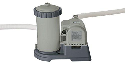 Intex 2500 GPH Cartridge Filter Pump W/RCD(220-240 Volt) Épurateur à Cartouche, Gris, 42 x 29 x 38 cm