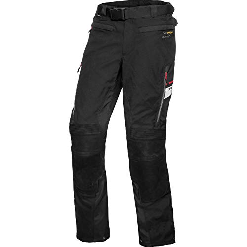 FLM Motorradhose Touren Leder-/Textilhose 4.0 schwarz 3XL, Herren, Tourer, Ganzjährig