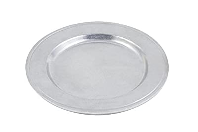 Bon Chef 1021PG Aluminum/Pewter Glo Rimmed Salad Plate (Pack of 6)