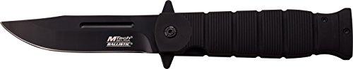 MTECH USA Couteau de Poche, Lame Noire, Longueur fermé en cm : 12.07, mtec de 1454