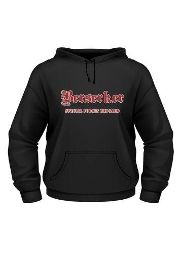 Hoodie: Berserker Special Forces Midgard - Wikinger Shirt Viking wear Größe XL