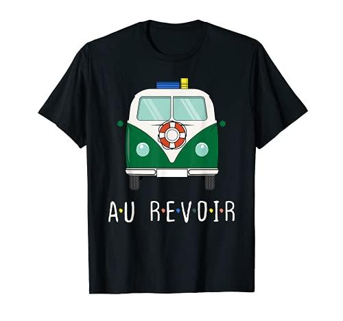 Auto Bus. Au Revoir! Auf Wiedersehen! Los gehts! Travel Fun Camiseta