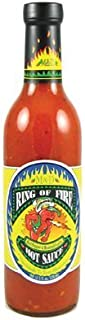 Ring of Fire Red Pepper & Roasted Garlic Hot Sauce by Ring Of Fire