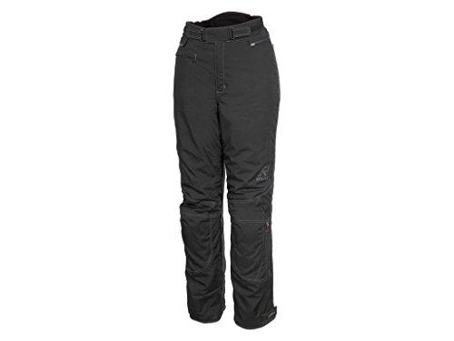 RUKKA Damen Motorradhose RCT LADY Gore-Tex Hose schwarz mit Protektoren (40 C2)