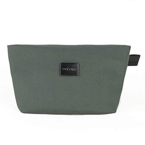 G-rf Computer Tas E100 Series Polyester Waterdichte Accessoires Storage Bag, Afmetingen: 22 x 12 x 5 cm (zwart) (Color : Green)