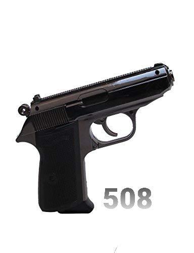 STAR MAGIC® 508 - GUN SHAPE METAL CIGARETTE LIGHTER WITH HOLSTER