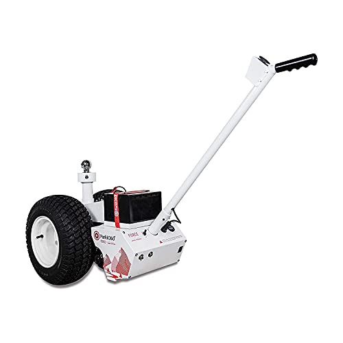 Parkit360 10K B3 Battery Powered Trailer Jack Utility Dolly for Easy Pulling with 2 Hitch Balls Included, Great for Camper, Cargo, and Boat Trailers