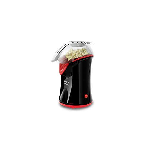 Cecotec Palomitero Eléctrico Fun&Taste P´corn. Funcionamiento por convección, Palomitas en 2 min, Desmontable para una mejor Limpieza, 1200 W
