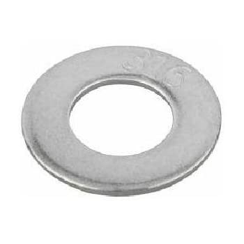 Steel Flat Washer Pack of 10 0.065 Thick 3 OD 17//32 ID Zinc Plated Finish Small Parts 5048WFPK 1//2 Screw Size Pack of 10 1//2 Screw Size 17//32 ID 3 OD 0.065 Thick