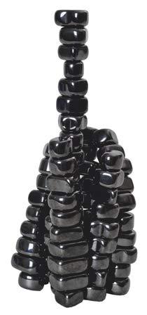 TimeTEX Magnetische Steine - schwarz - metallic - ca. 20 mm im Durchmesser - ca. 20 Stück - 93276