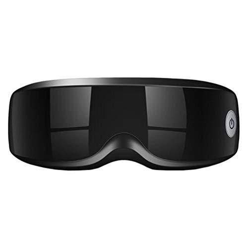 Supvox Masajeador de Ojos Eléctrico Máquina de Máscara Digital Inalámbrica con Banda Elástica Ajustable para Aliviar La Tensión Ocular Ojeras Bolsas de Ojos Ojo Seco Mejorar El Sueño