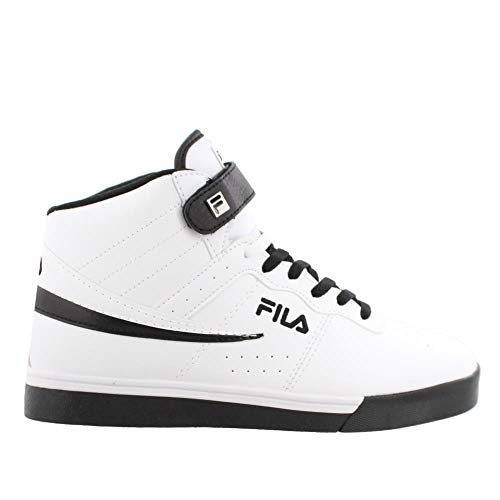Fila Vulc 13 Mid Plus Mens High Top Athletic Fashion Sneaker Shoes White/Black