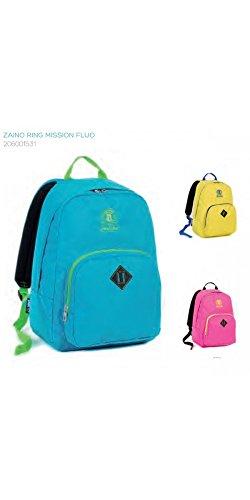 sac à dos pour école et loisirs ring mission fluo couleurs assorties