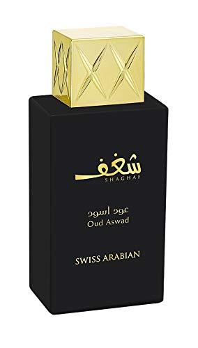 Shaghaf Oud Aswad by Swiss Arabian Eau De Parfum Spray 2.5 oz / 75 ml (Women)