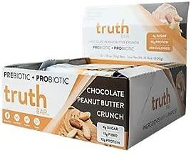 truth BAR Prebiotic + Probiotic Bar Chocolate Peanut Butter Crunch (12 Bars)