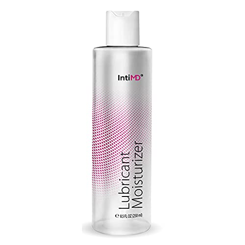 IntiMD Personal Lubricant Moisturizer Water Based Lube,FDA 510K Cleared, Long Lasting, Sensitive Skin Friendly - 8.5oz
