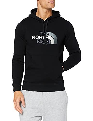 The North Face M Drew Peak Plv HD, Felpa con Cappuccio Uomo, 100% cotone, Nero (TNF Black), XXL