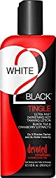 commercial Devoted Creations White 2 Black、Tingling Ultra Fast Darkening Lotion 8.5 oz。 tingle tanning lotion
