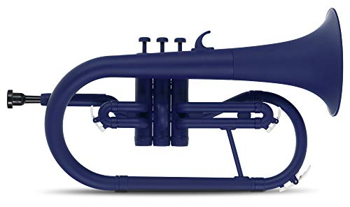 Classic Cantabile MardiBrass Fliscorno de material sintético en si bemol azul mate