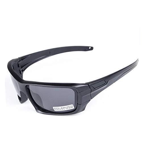 WFBD-CN Gafas de Sol para los Hombres Gafas tácticas a Prueba de Balas de Marco Completo Gafas tácticas Gafas de Tiro polarizadas for Exteriores Gafas de Sol para los Hombres Gafas de Sol para la