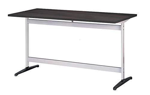 Tee 会議テーブル 幅120cmx奥行75cm 天板ブラウン 黒脚 シルバー脚 RSS3-GA1275J-CV 国内正規品