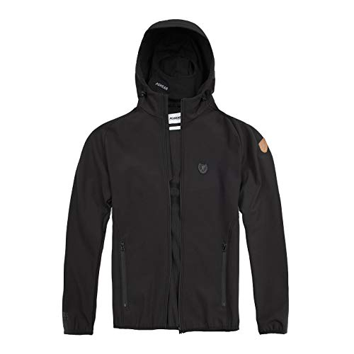 PG Wear Full Face Softshelljacke Offensive Black XL