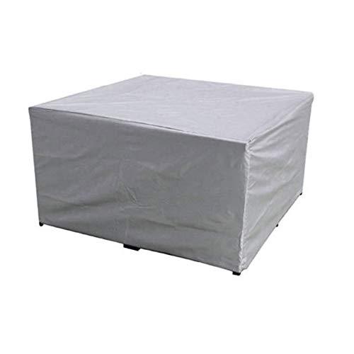 UNKB Funda para Muebles de Jardín Exterior, 420D Oxford Rectangular Conjuntos de Muebles Cubierta Impermeable, Anti-UV Cubierta de Muebles de Jardín, para Sofa Patio Mesa Silla210*140 * 80cm