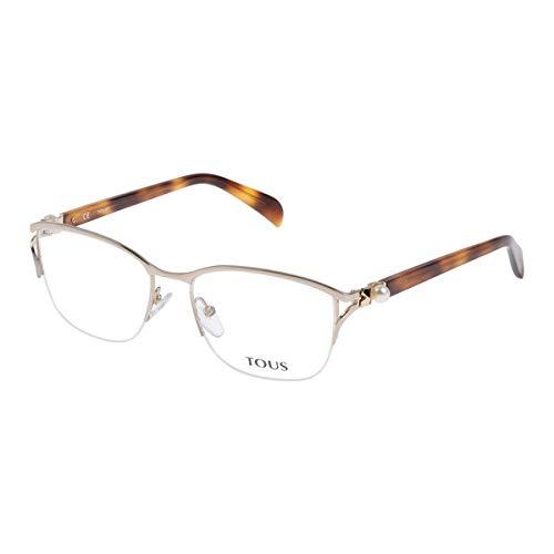 TOUS VTO318S540300 Gafas, ROSA, 54/17/135 para Mujer