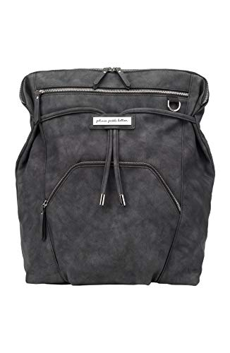 Petunia Pickle Bottom - Cinch Convertible Backpack - Midnight Leatherette