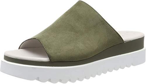 Gabor Shoes Damen Jollys Pantoletten, Grün (Oliv 41), 40.5 EU