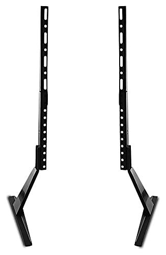 Soporte universal para mesa de escritorio con pedestal para TV de pantalla plana LCD de 27 a 65 pulgadas (tamaño: 27 a 65 pulgadas)