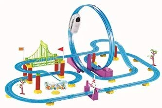 Signature SC Collection 360° Loop High Speed Roller Coaster Battery...