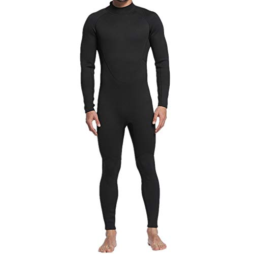 ZzheHou Traje De Neopreno para Hombre Traje de Buceo de Neopreno de 2 mm para Hombre, Traje Completo, Manga Larga, Traje de Surf para Surfear, Buceo (Size : XXL)
