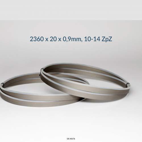 3er SET Bandsägeblatt Bimetall M42 Abmessung 2360x20x0,90 mm, 10-14 ZpZ z.B. für Optimum, Holzmann, Epple, Bernardo, Huvema Sägeband