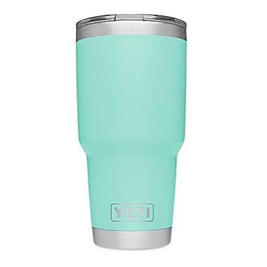YETI Rambler 30 oz Stainless Steel Vacuum Insulated Tumbler w/ MagSlider Lid, Seafoam