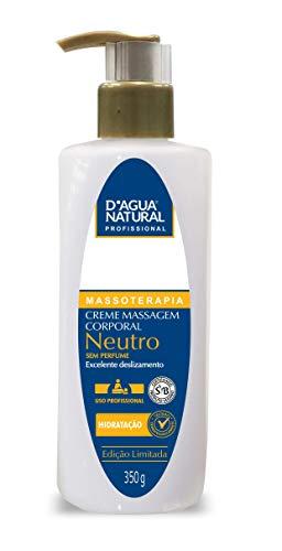 Creme de Massagem Neutro, D'agua Natural, 350 g