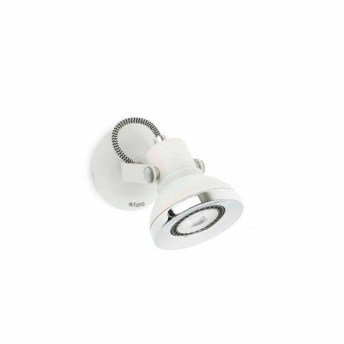 Faro Barcelona Ring 40550-Spot, 8W, Metall, Weiß
