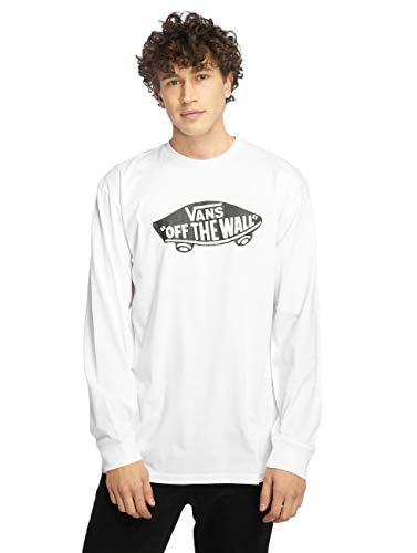 Vans Herren Ot Long Sleeve T - Shirt, Weiß (White/black), Large