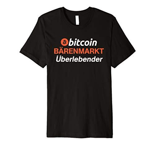 mächtig der welt Bitcoin BTC Cryptocurrency Bärenmarkt Survivor T-Shirt