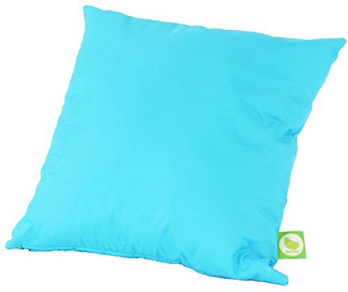 Waterproof Outdoor Garden Furniture Seat Cushion Filled with Pad By Bean Lazy - Aqua