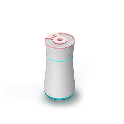 Luchtreiniger mini luchtbevochtiger, mini kleine auto creatieve usb luchtbevochtiger, thuiskantoor klein, continue spray/intermitterende spray