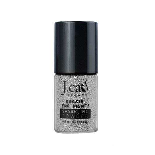 J. CAT BEAUTY Sparkling Powder - Cool Silver (3 Pack)
