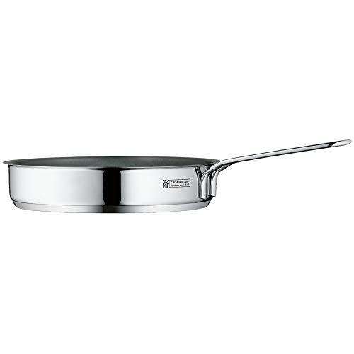 WMF Mini Bratpfanne beschichtet klein 18 cm, Cromargan Edelstahl poliert, Induktion, stapelbar, ideal für kleine Portionen oder Singlehaushalte