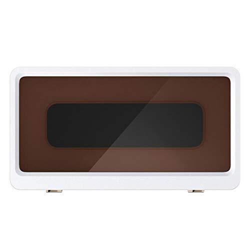 QYLJZB Soporte para teléfono de ducha de pared, soporte de pared impermeable Caja de teléfono de baño adhesivo Pantalla táctil Estante de teléfono sellado Caja de teléfono para bañera (blanco)