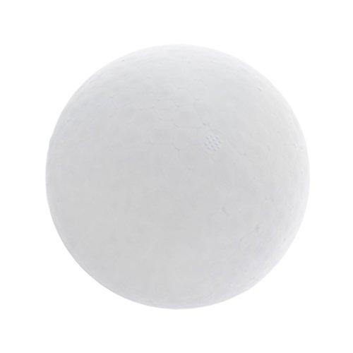 Styroporkugel Ø 25 cm Styropor Kugel für DIY Kunsthandwerk - Weiß, 250mm