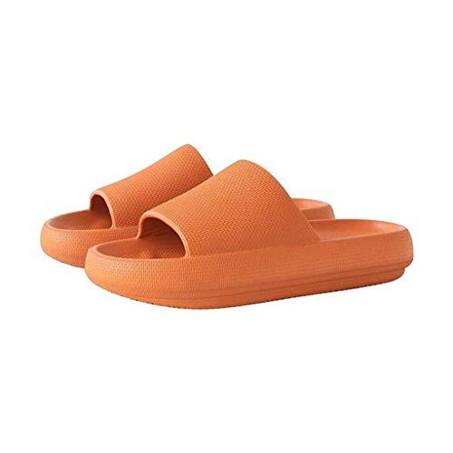 Zapatillas para mujeres y hombres de secado rápido, zapatillas suaves de punta abierta de EVA, masaje antideslizante, ducha, bañera de hidromasaje, piscina, gimnasio, sandalias de casa para in